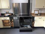 Lohbeger Varioline LC 80 wood fired cooker with Pellet module